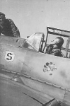 Adolf Galland and his Bf109