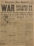 Dichiarazione di guerra al Giappone