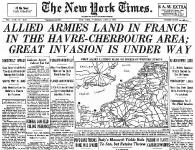 Inizia lo sbarco in Normandia