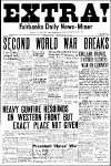 Scoppia la Seconda Guerra Mondiale