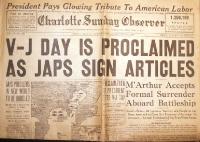 V-J day: anche nel Pacifico la guerra è finita