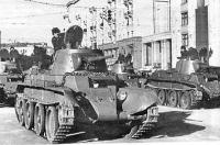 BT-7 in parata
