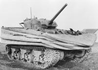 Sherman DD (Duplex Drive) amphibious tank