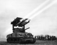 Sherman M4 T34 lanciarazzi (Calliope)