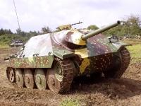German Jagdpanzer 38(t) più conosciuto com 'Hetzer'