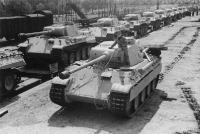 Panther Ausf. D tanks, 1943