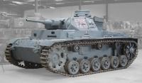 Panzer III Ausf. H (auf Ausf. H Fahrgestell). Musée des Blindés