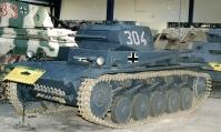 PzKpfw II Ausf. C al Musée des Blindés.