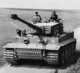 Tiger I in northern France, Marzo 1944