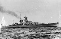 L'incrociatore tedesco Gneisenau