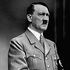 Adolf Hitler retouched