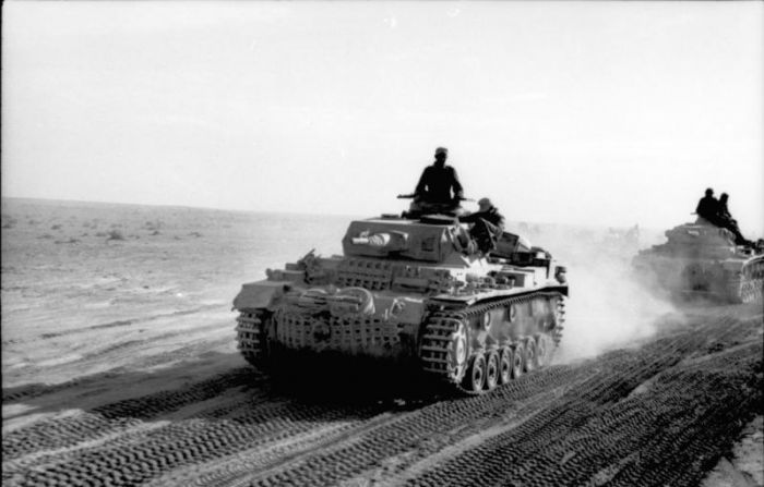 Panzer III in Nord Africa