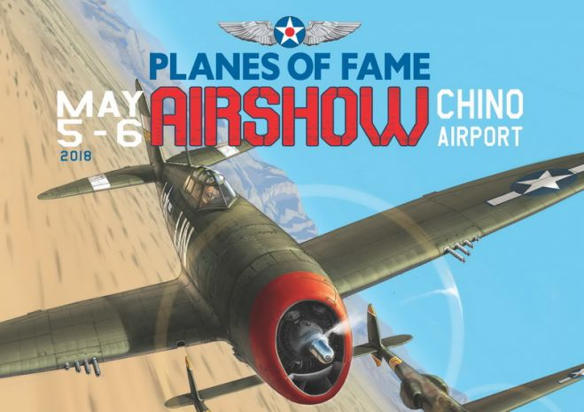 Planes of Fame Chino Airshow 2018